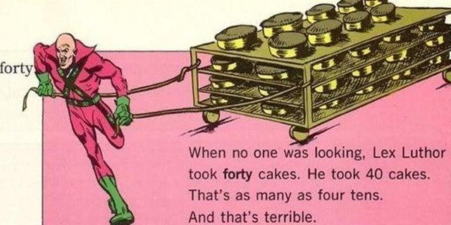 lex luthor 40 cakes