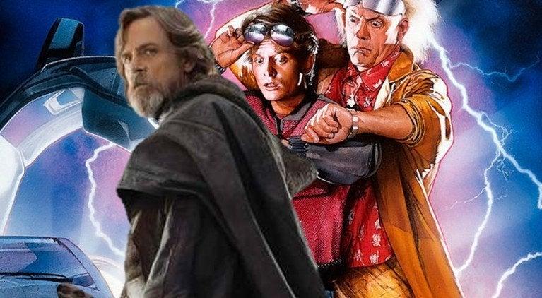 Luke Skywalker Star Wars Back to the Future Mark Hamill