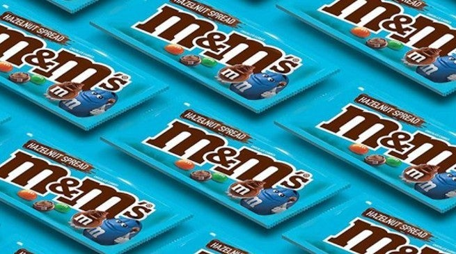 MandMs New Flavors 2019 Hazelnut Spread Nutella