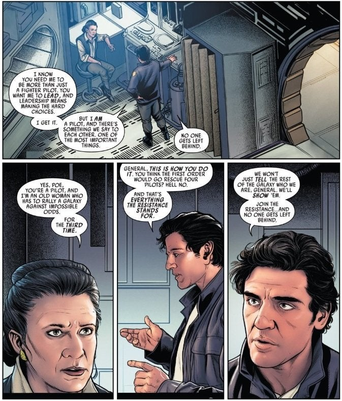 marvel comics poe dameron