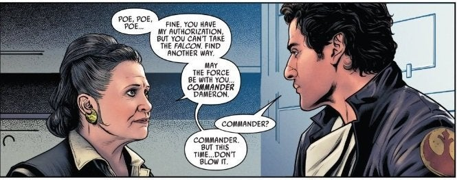 marvel comics poe dameron 2