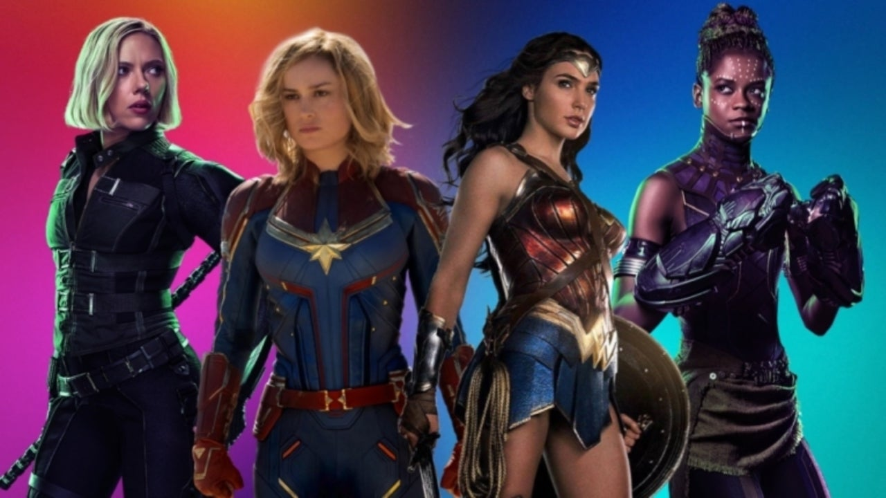 Female superheros celebrities picture 14