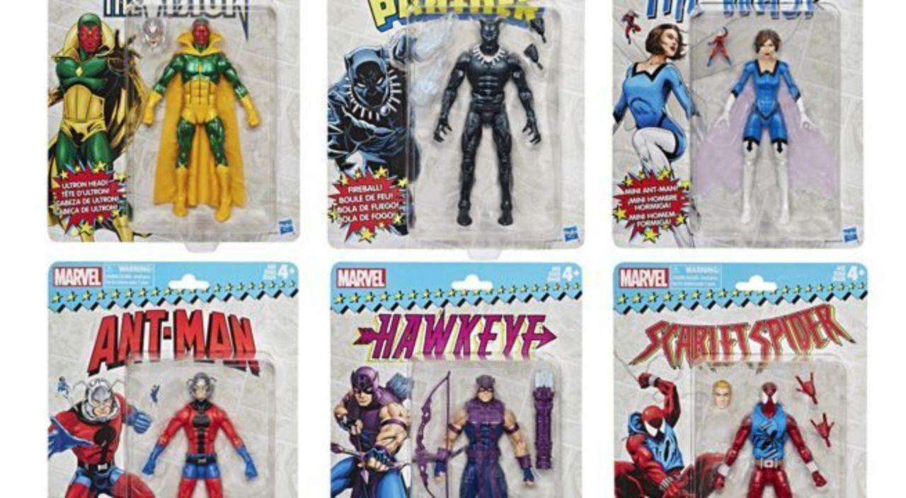 Vintage Marvel Legends Wave 2 Set of 6 Figures
