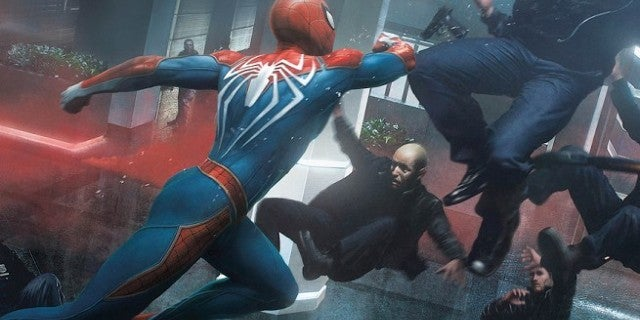 Marvel's Spider-Man The Art of the Game