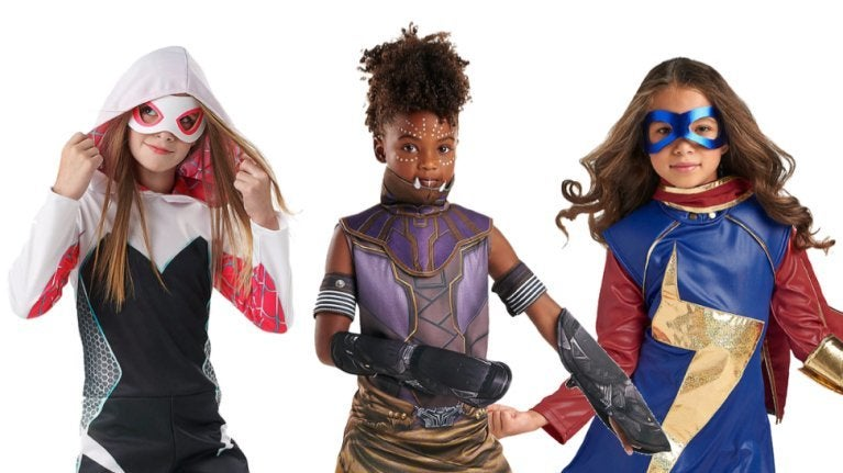 Marvel Shuri Kamala Ghost Spider costumes comicbookcom