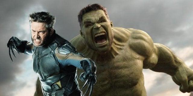 MCU Hulk Wolverine COMICBOOKCOM
