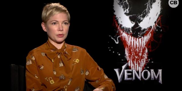 Michelle Williams Talks Venom screen capture