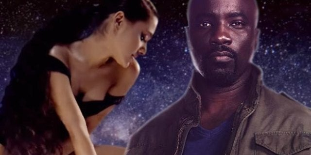 mike colter ariana grande