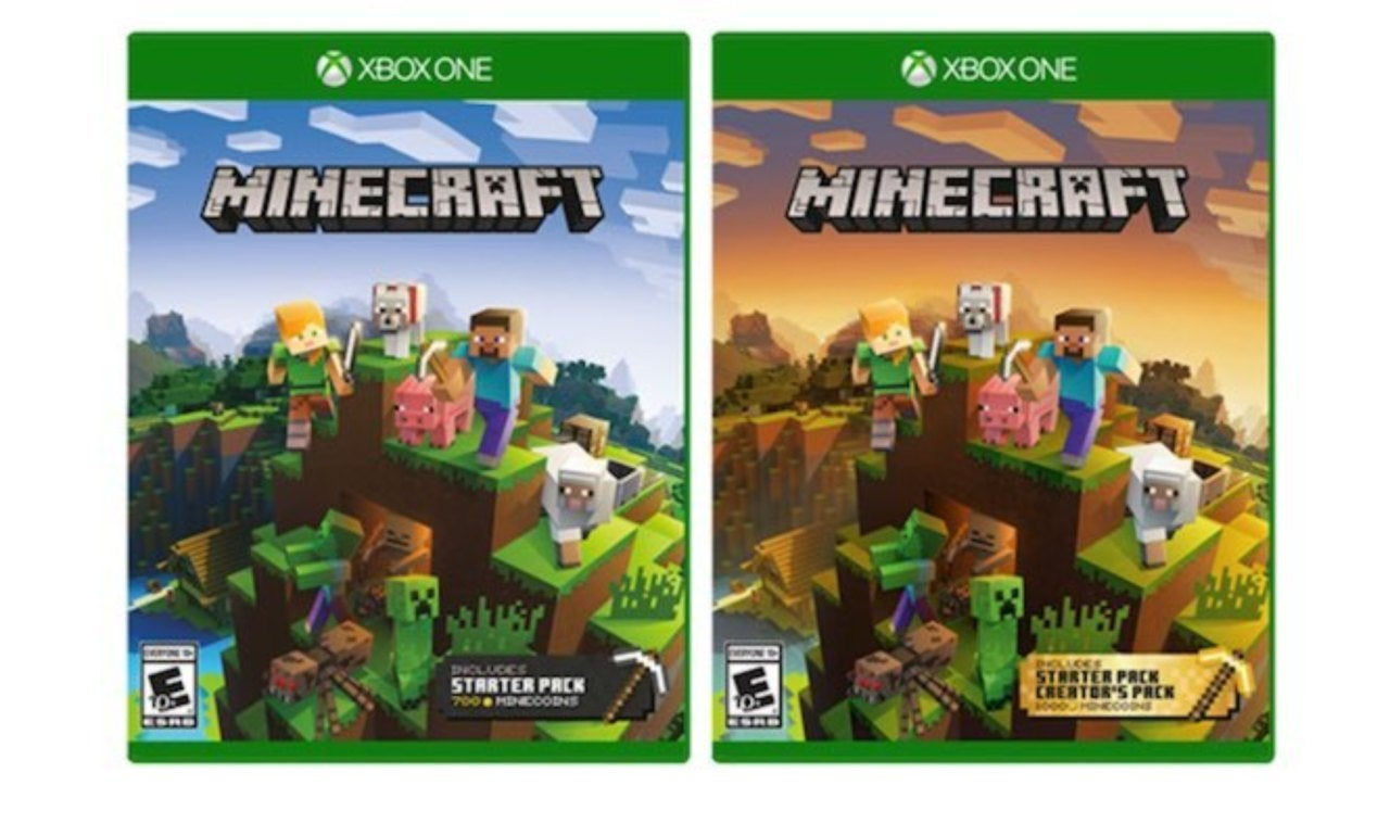 How To Make A Book Minecraft Xbox ~ Microsoft introduces minecraft collections two controller bundle