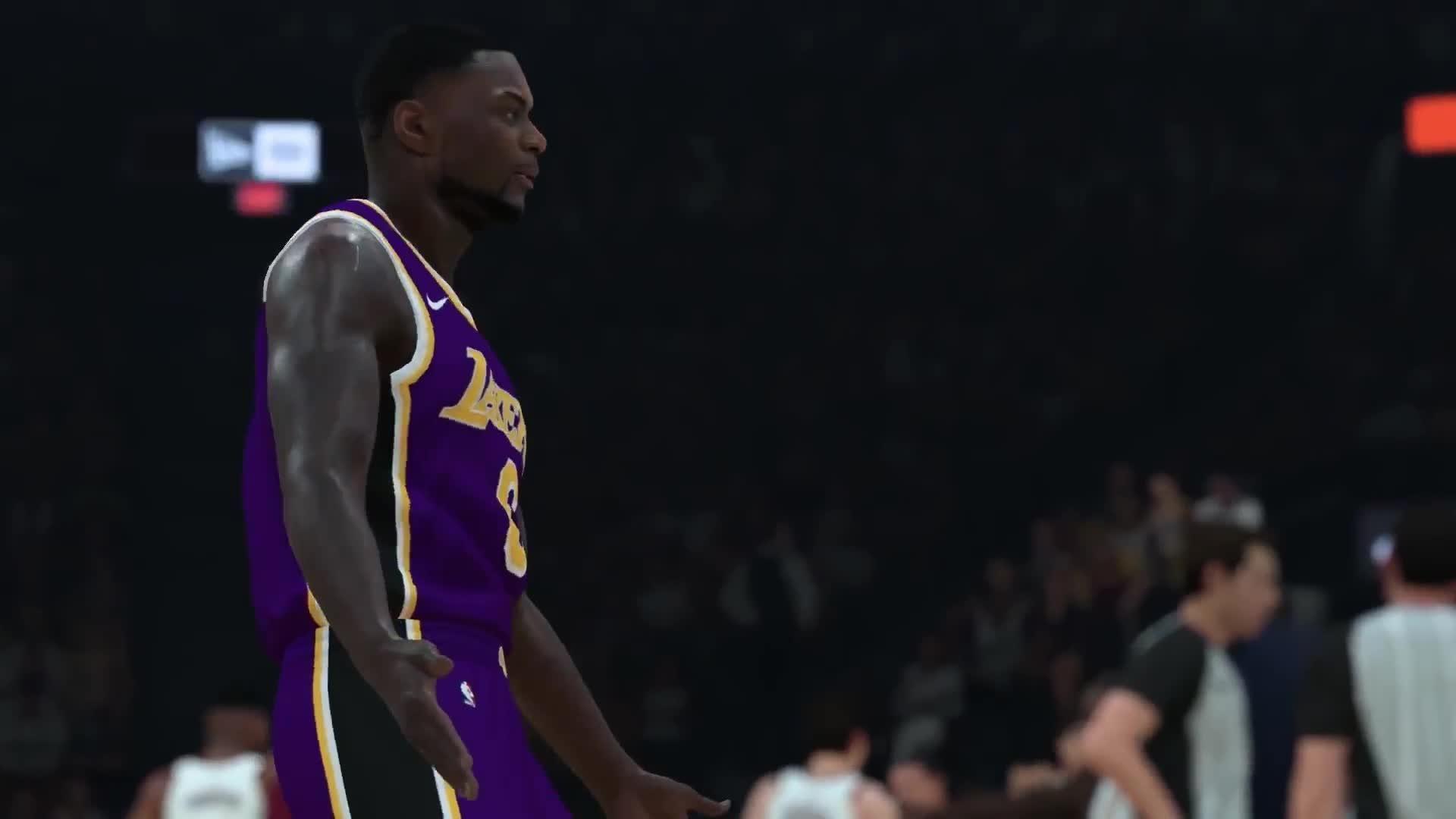 NBA 2K19 Momentous Trailer screen capture