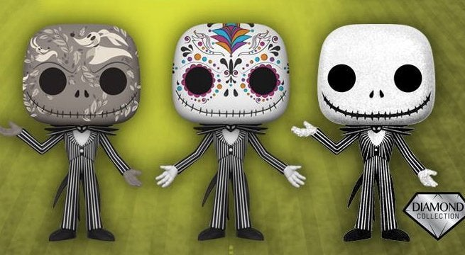 funkos the nightmare before christmas jack skellington exclusive pops are here - Christmas Jack Skellington