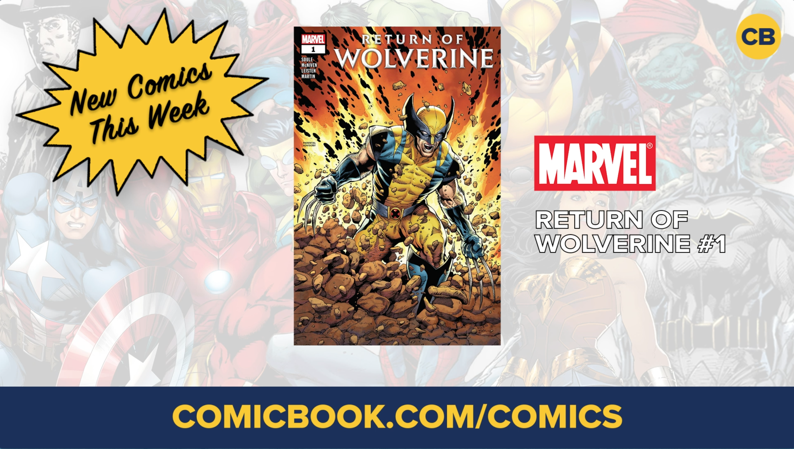 NEW Marvel, DC, & Image Comics Out This Week: 09/19/2018 screen capture