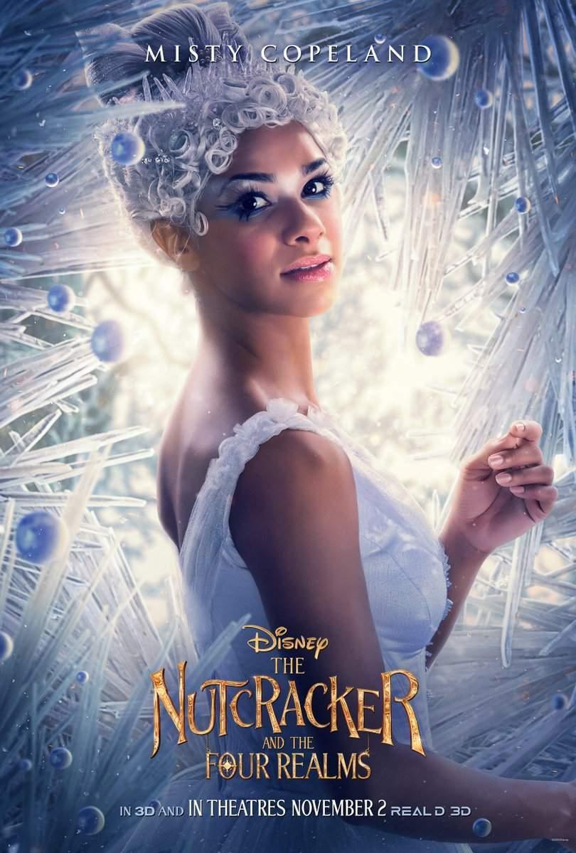 Nutcracker and the Four Realms Ballerina Misty Copeland