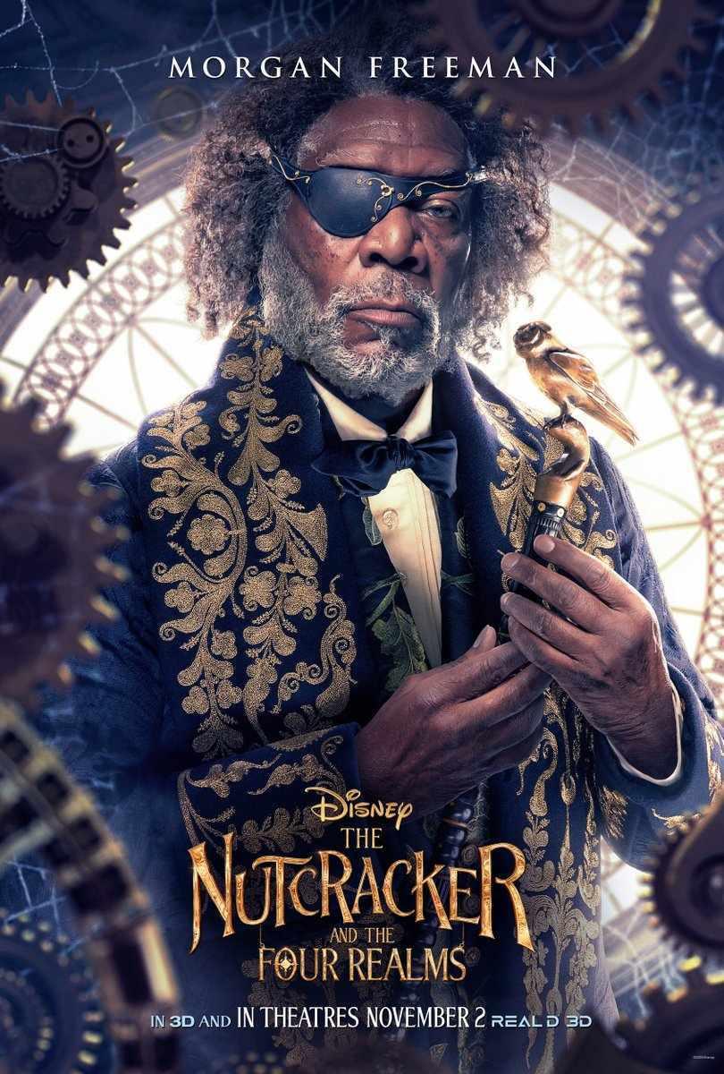 Nutcracker and the Four Realms Drosselmeyer Morgan Freeman