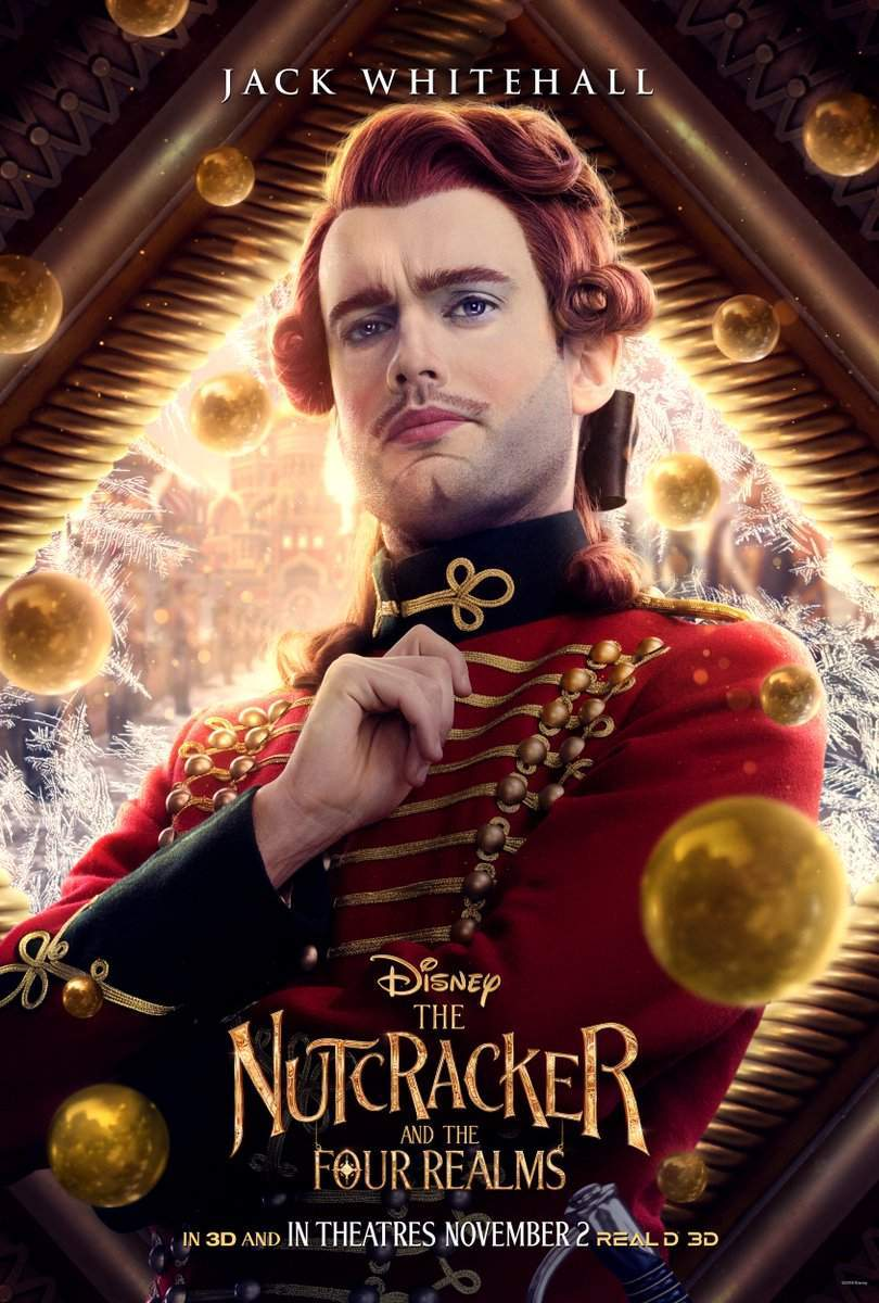 Nutcracker and the Four Realms Harlequin Jack Whitehall