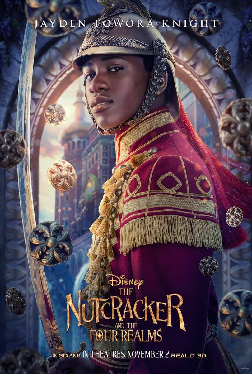 Nutcracker and the Four Realms Jayden Fowora-Knight Philip