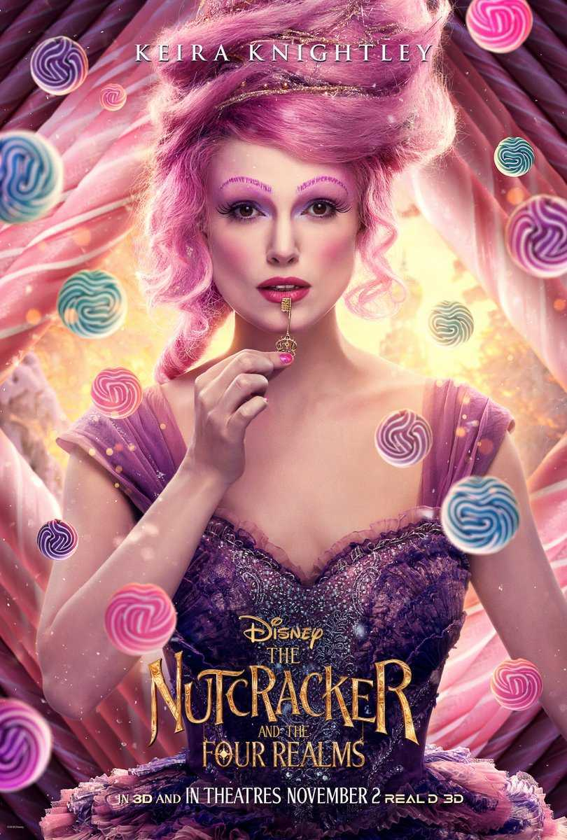 Nutcracker and the Four Realms Keira Knightley Sugar Plum Fairy