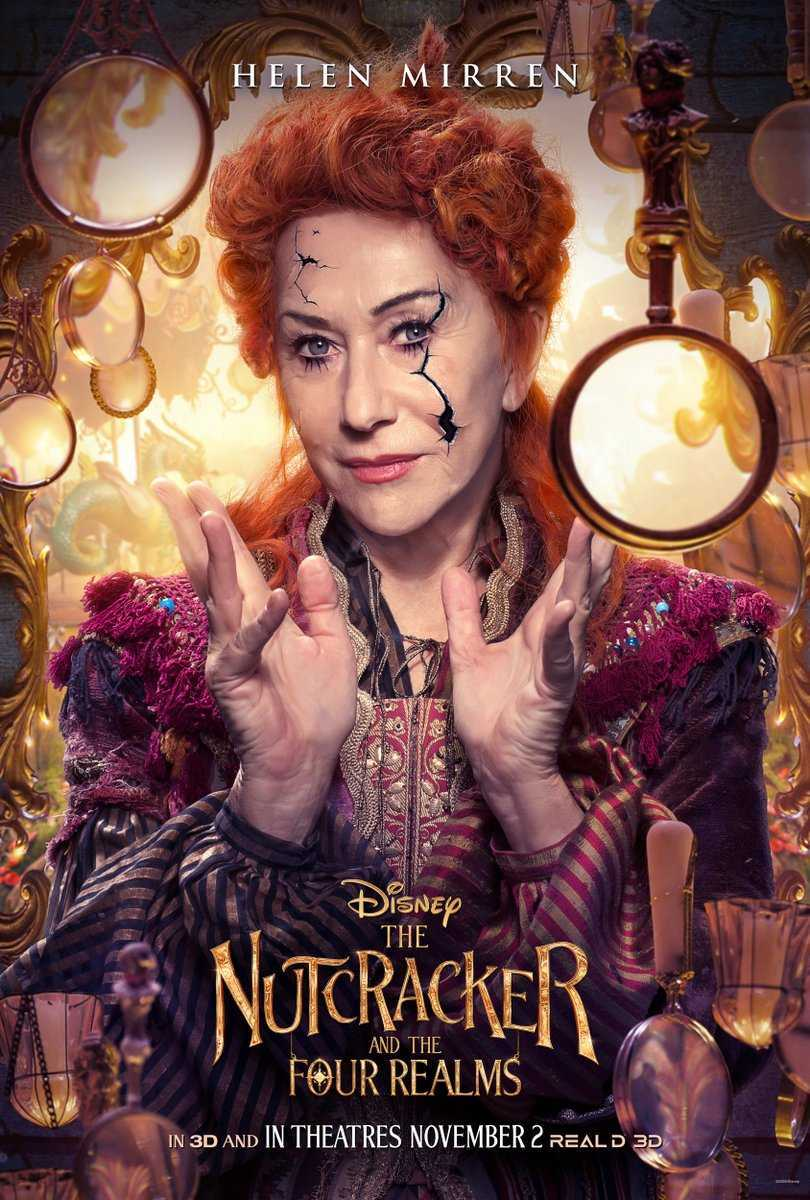 Nutcracker and the Four Realms Mother Ginger Helen Mirren