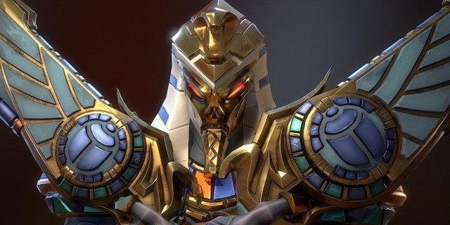 Overwatch Ancient King Reaper Skin Featured