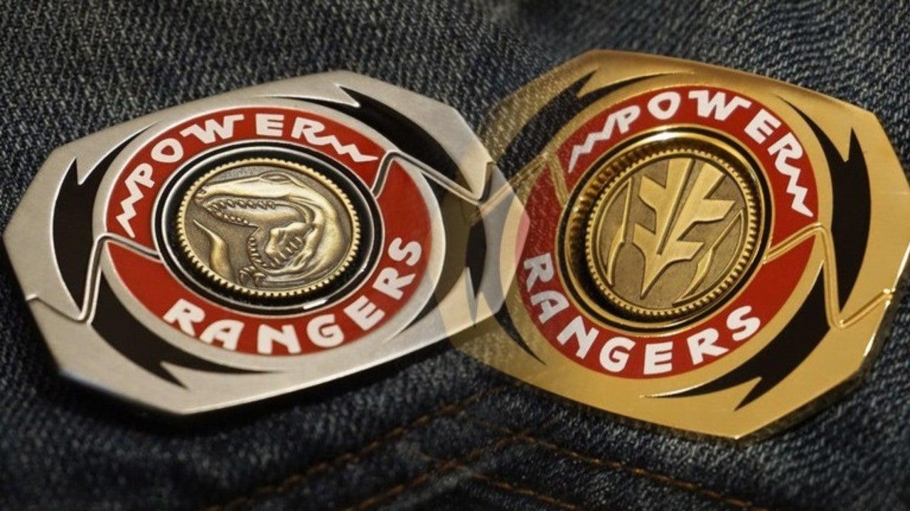 power rangers morpher pins spotlight original team and tommy power rangers morpher pins spotlight