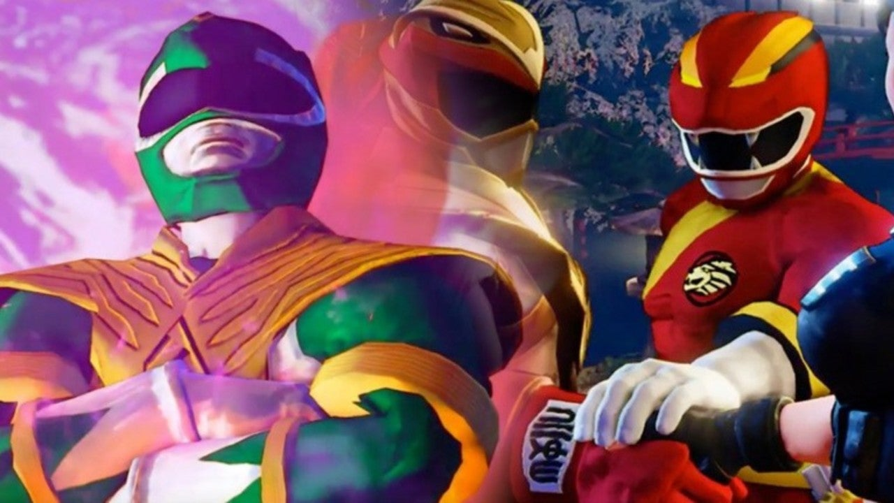 Power Rangers Invades 'Street Fighter V' With This Awesome Mod