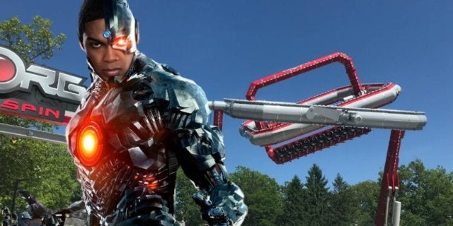 Ray Fisher Cyborg Cyber Spin comicbookcom
