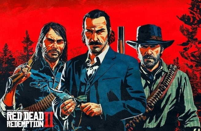 """red dead redemption 2 """"title ="""" red dead redemption 2 """"height ="""" 426 """"width ="""" 655 """"data-item ="""" 1132791 """" />    <figcaption> (Photo: Istemann via Reddit) </figcaption></figure> <p> It's not quite October 26 yet, but tomorrow it will be official October, so known as, <em> Red Dead Redemption 2 </em> month. </p> <p> That's Just like with <em> Grand Theft Auto V </em>Rock Star is going big with advertising </p> <p> Again, we are still ̵<div class="""