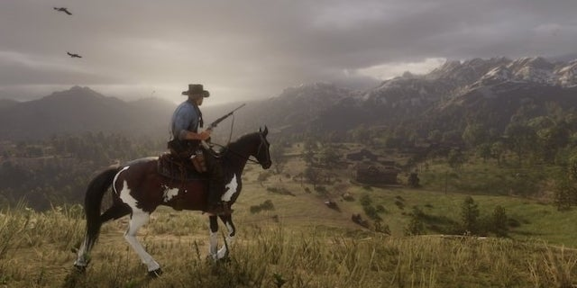 red dead redemption 2 landscape