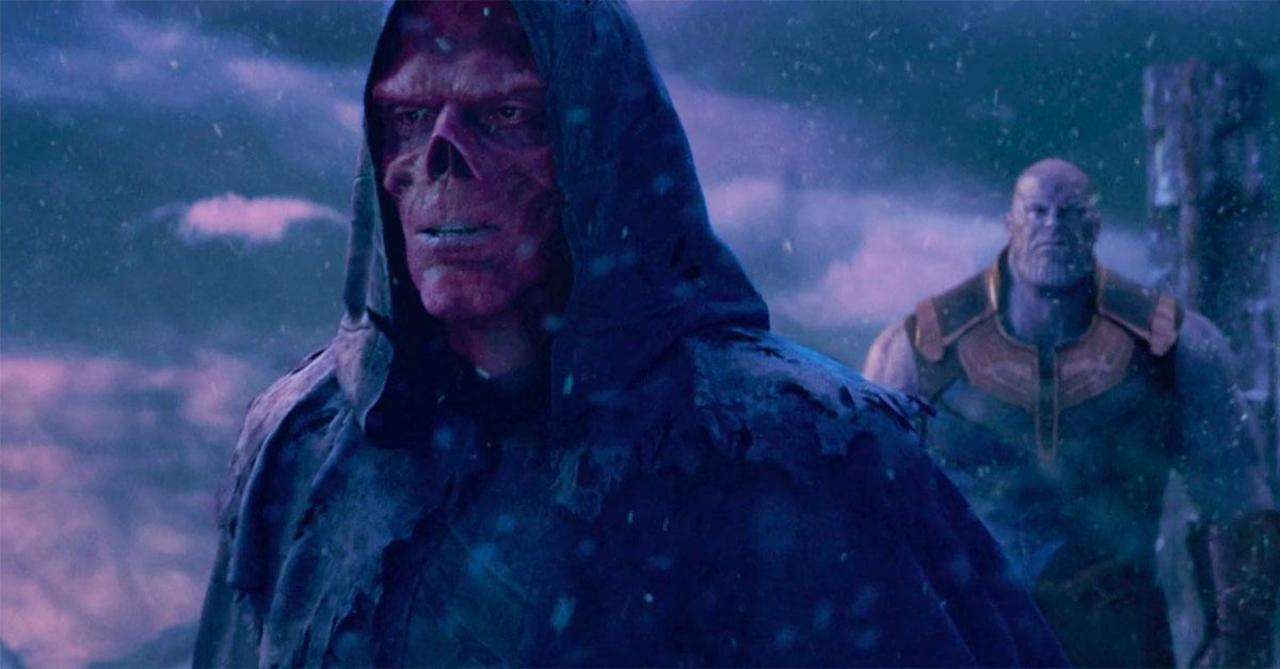 Image result for red skull infinity war
