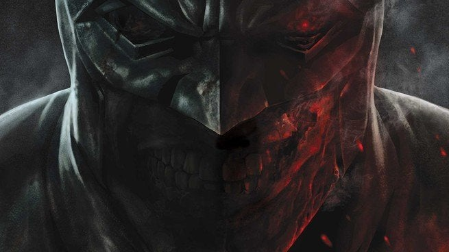 Review Batman Damned - Cover