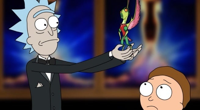 rick and morty emmys 2018