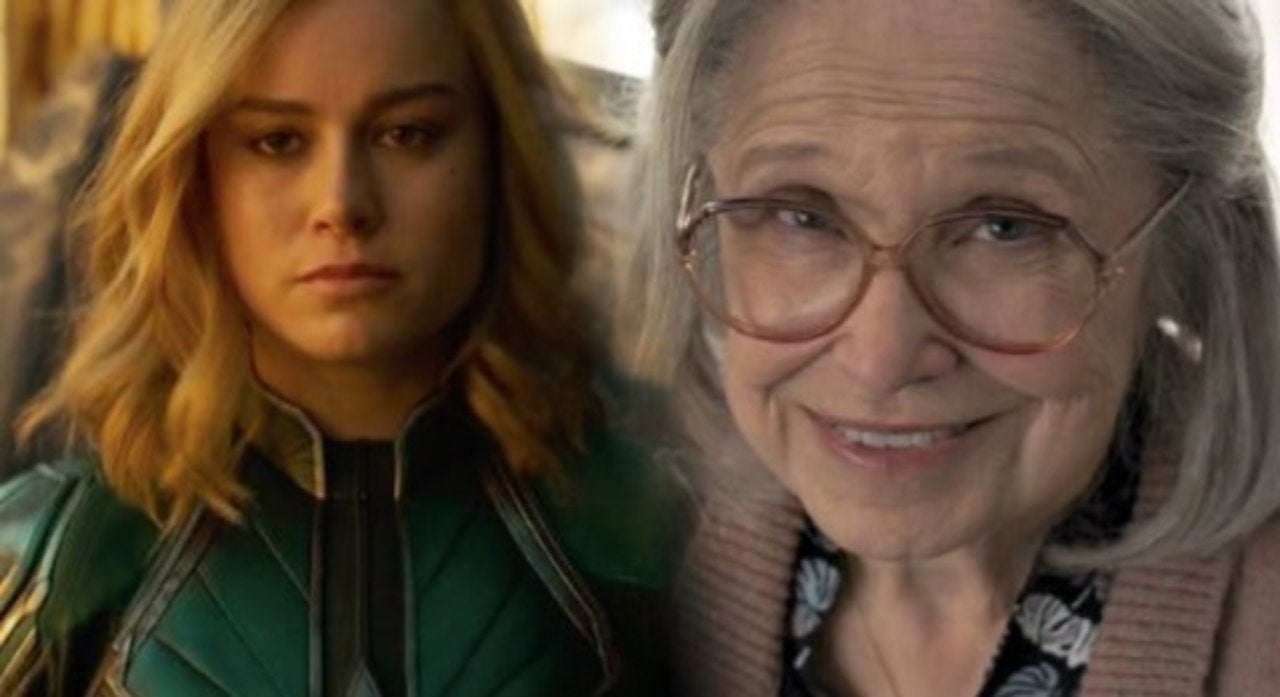 captain marvel' fans react to carol punching an old lady