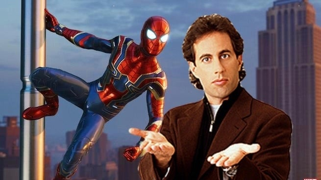 seinfield spider-man