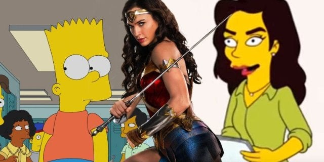 Simpsons Season 30 Premiere Gal Gadot