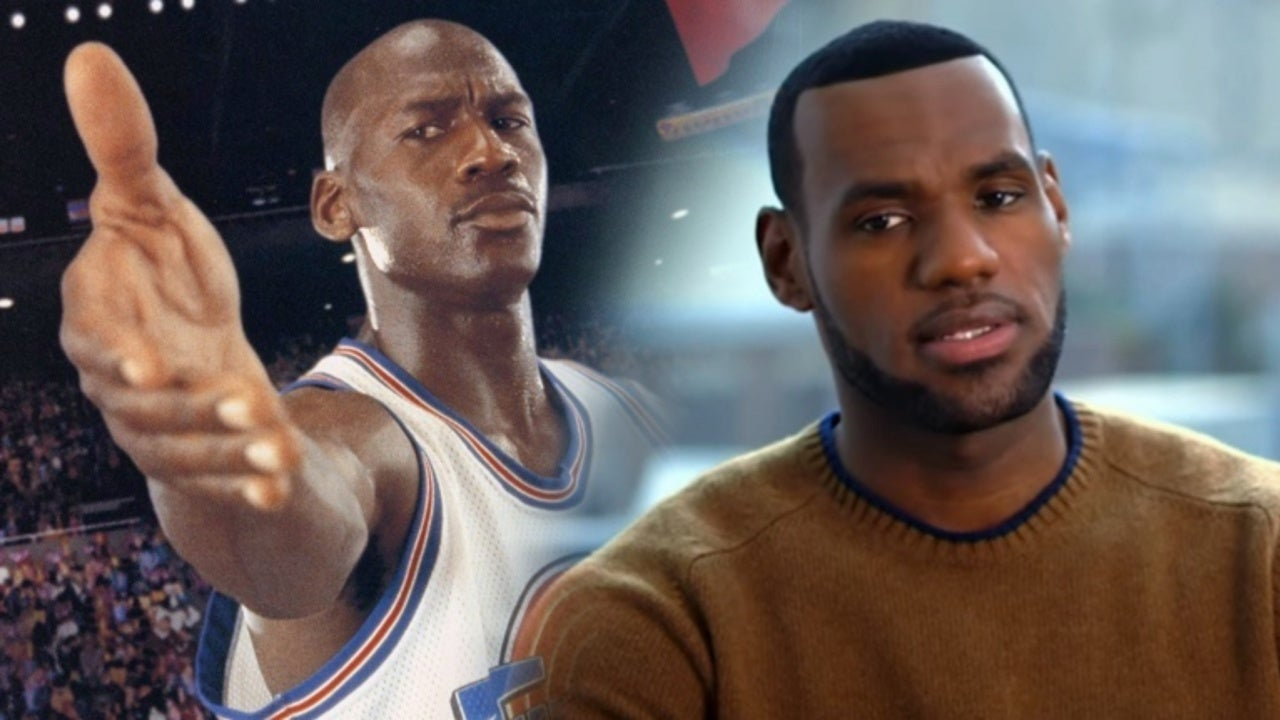 reputable site a9eb9 a1bb9  Space Jam 2  Reveals First Look at LeBron James in Tune Squad Jersey