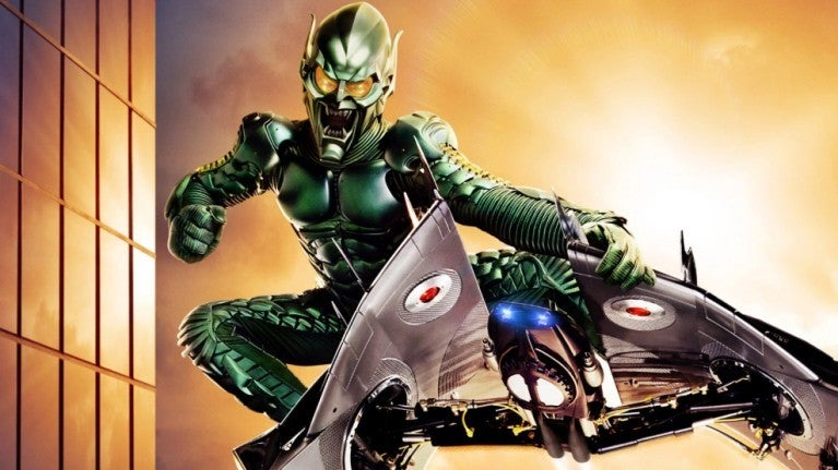 Spider-Man 2002 Green Goblin