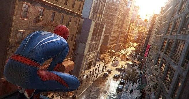 spider-man city