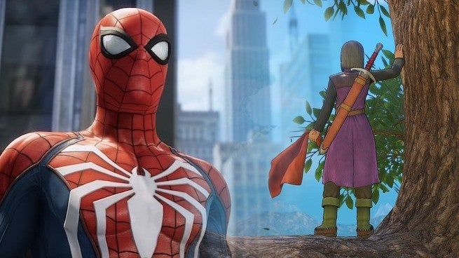 Spider-Man Dragon Quest XI