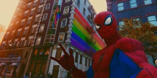 spider-man pride