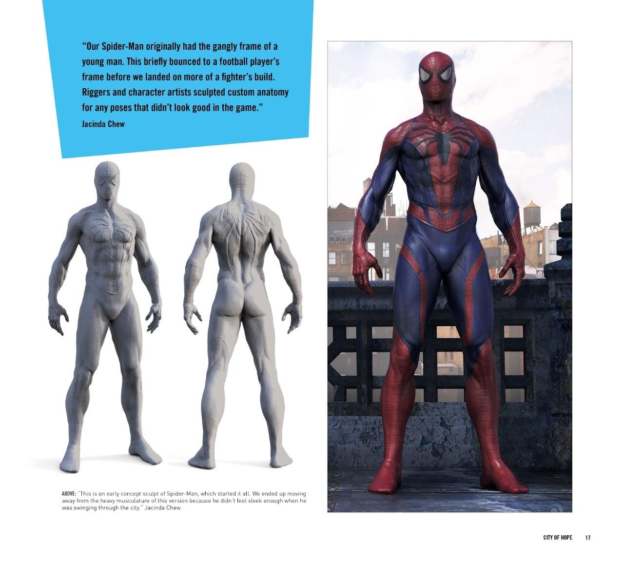 Spider-Man\' Art Book Reveals Unused Alternate Costume