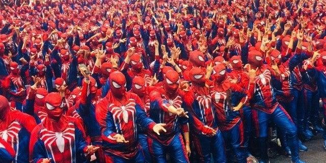 Spider-Man Sony Marvel World Record