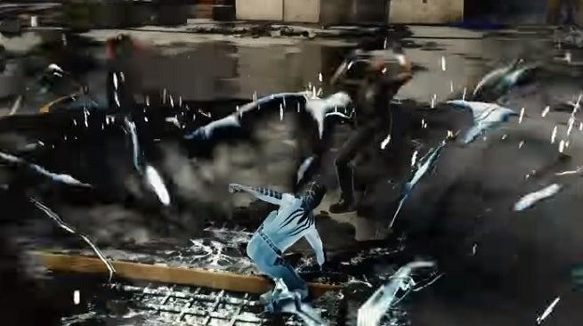 spider-man suit power