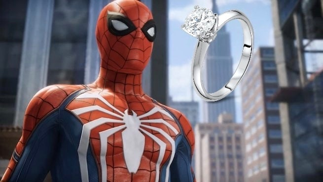 A Developer Used Marvel S Spider Man To Propose