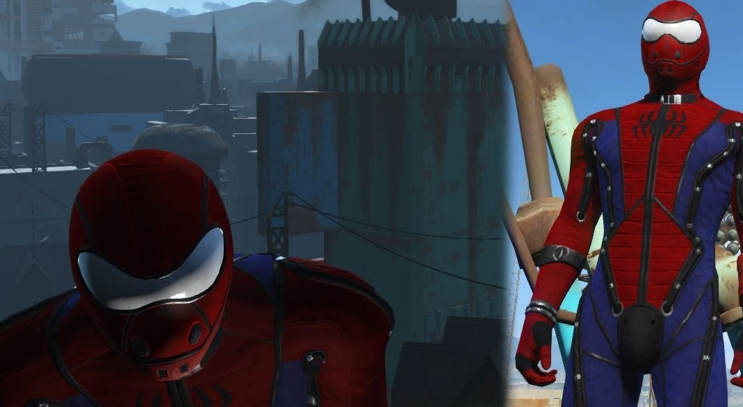 spidey fallout mod
