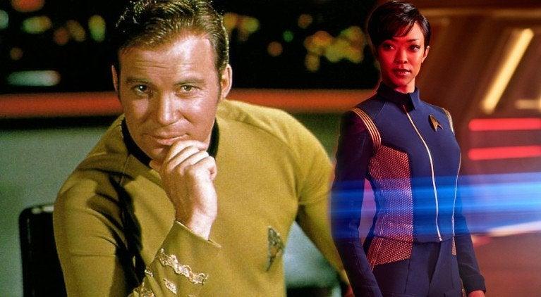 Star Trek Governors Award Emmy William Shatner Sonequa Martin-Green