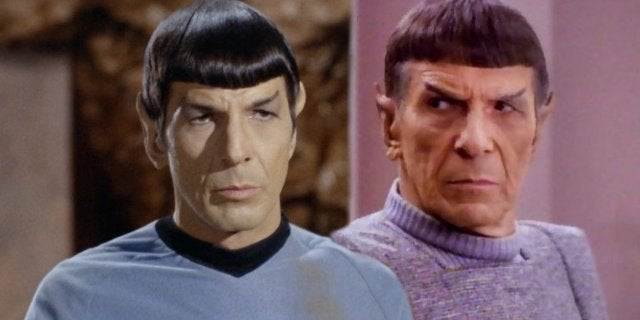 Star Trek The Next Generation Two Spocks