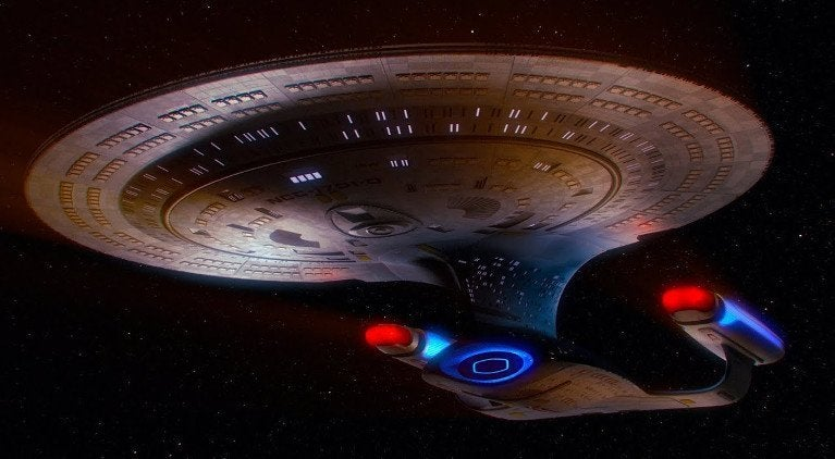 Star Trek TNG Enterprise Stage 9