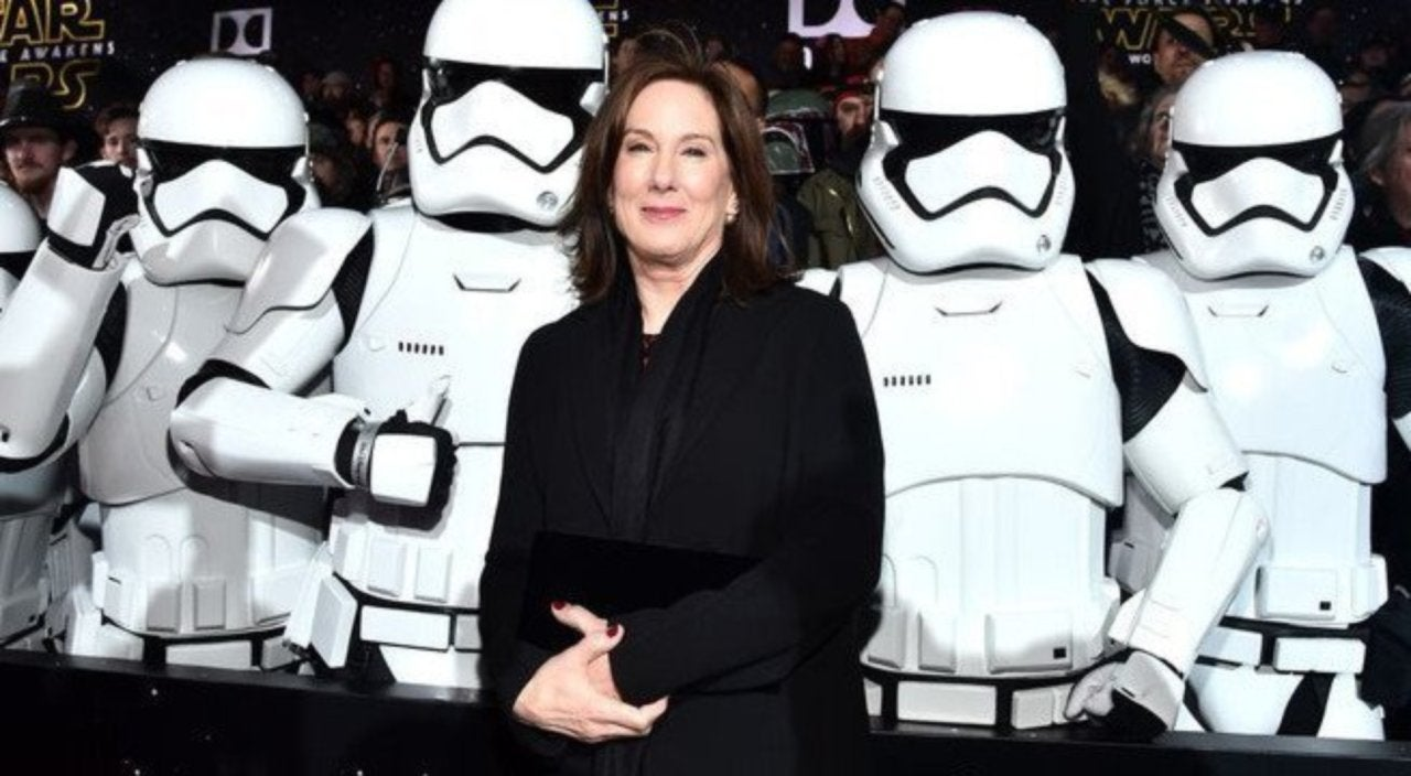 Lucasfilm President Kathleen Kennedy Earns Royal Honor From the British Empire