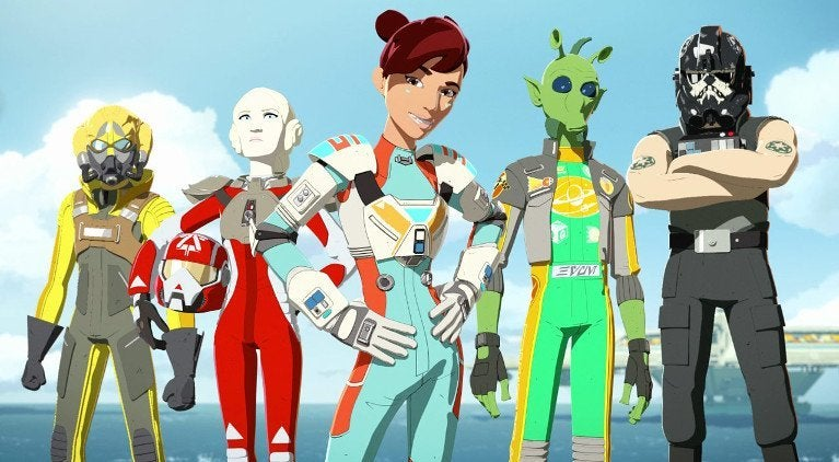 Star Wars Resistance Aces