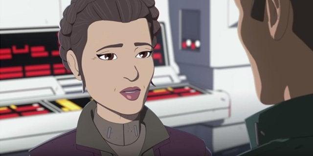 star wars resistance leia organa